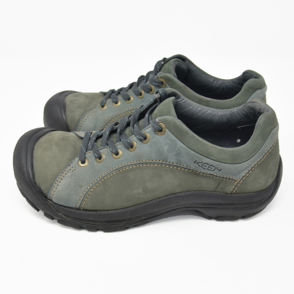 8d176c0fc77e Keen Shoes - Keen Sz 9 Green Suede Lace Up Oxford Comfort Shoes
